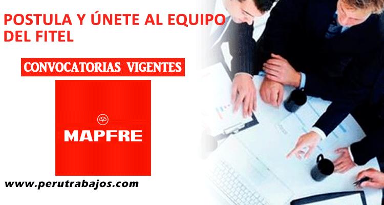 MAPFRE CONVOCATORIAS 2018 - Trabajos/Empleos/Prácticas/CAS